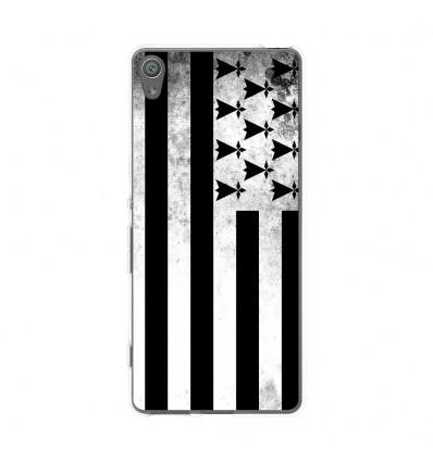 Coque en silicone Sony Xperia XA - Drapeau Bretagne