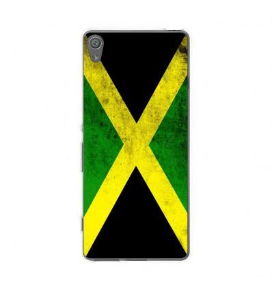 Coque en silicone Sony Xperia XA - Drapeau Jamaïque
