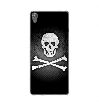 Coque en silicone Sony Xperia XA - Drapeau Pirate