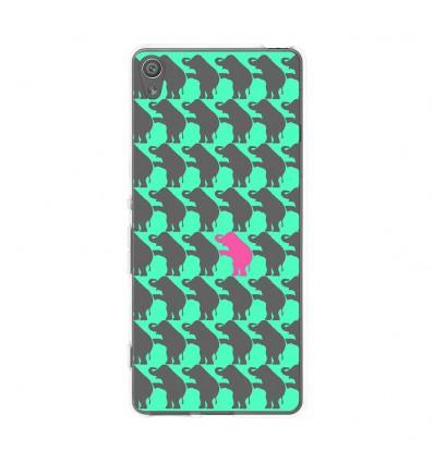 Coque en silicone Sony Xperia XA - Elephant