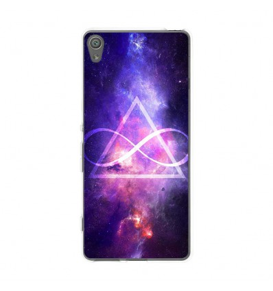 Coque en silicone Sony Xperia XA - Infinite Triangle