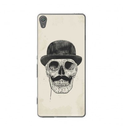 Coque en silicone Sony Xperia XA - BS Class skull