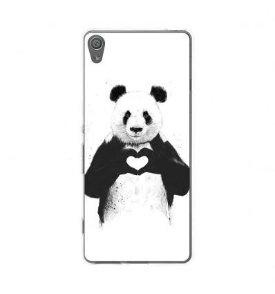 Coque en silicone Sony Xperia XA - BS Love Panda