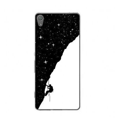 Coque en silicone Sony Xperia XA - BS Nightclimbing