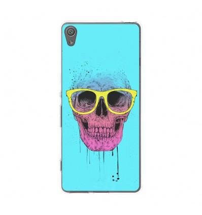 Coque en silicone Sony Xperia XA - BS Skull glasses