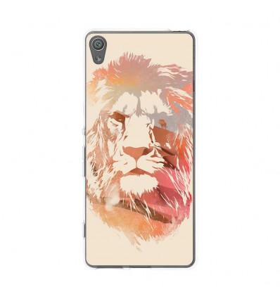 Coque en silicone Sony Xperia XA - RF Desert Lion