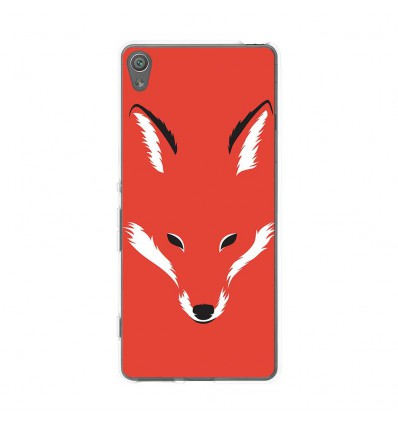 Coque en silicone Sony Xperia XA - RF Foxy Shape
