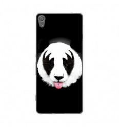 Coque en silicone Sony Xperia XA - RF Kiss Of Panda