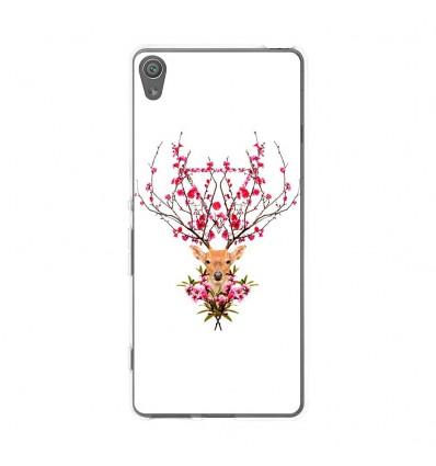 Coque en silicone Sony Xperia XA - RF Spring deer