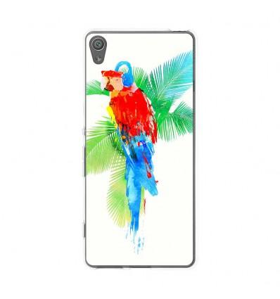 Coque en silicone Sony Xperia XA - RF Tropical party