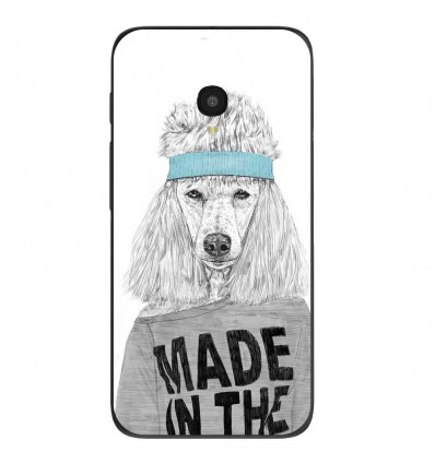 "Coque en silicone Alcatel One Touch Pixi 4 5"" - BS 80s Bitch"