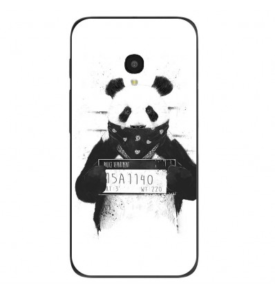 "Coque en silicone Alcatel One Touch Pixi 4 5"" - BS Bad Panda"