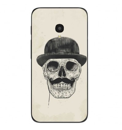 """Coque en silicone Alcatel One Touch Pixi 4 5"""" - BS Class skull"""