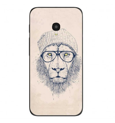 "Coque en silicone Alcatel One Touch Pixi 4 5"" - BS Cool Lion"