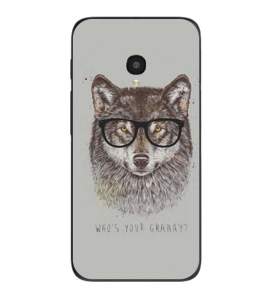 "Coque en silicone Alcatel One Touch Pixi 4 5"" - BS Granny"
