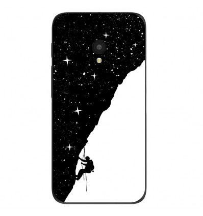 """Coque en silicone Alcatel One Touch Pixi 4 5"""" - BS Nightclimbing"""