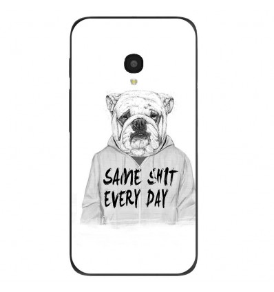 """Coque en silicone Alcatel One Touch Pixi 4 5"""" - BS Same shit"""