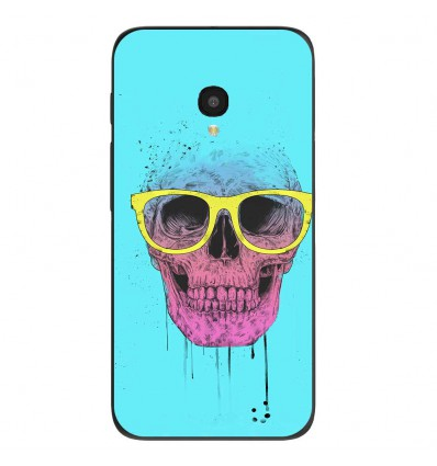 "Coque en silicone Alcatel One Touch Pixi 4 5"" - BS Skull glasses"