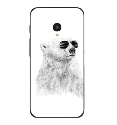 "Coque en silicone Alcatel One Touch Pixi 4 5"" - BS Sunny bear"
