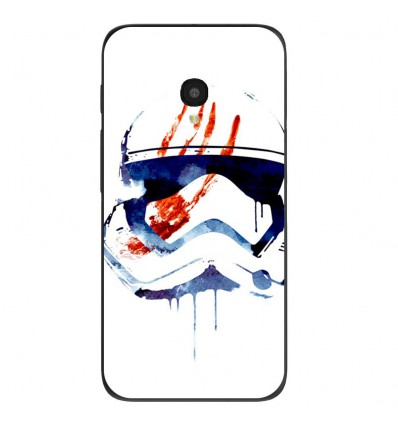 "Coque en silicone Alcatel One Touch Pixi 4 5"" - RF Bloody Memories"