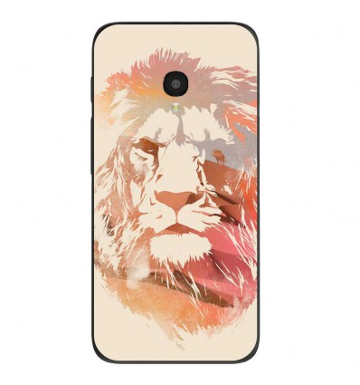 "Coque en silicone Alcatel One Touch Pixi 4 5"" - RF Desert Lion"
