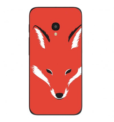 "Coque en silicone Alcatel One Touch Pixi 4 5"" - RF Foxy Shape"