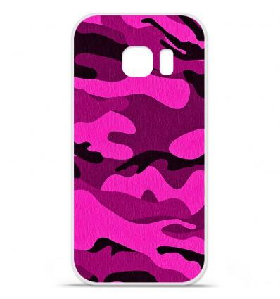 Coque en silicone Huawei Y5 II - Camouflage rose