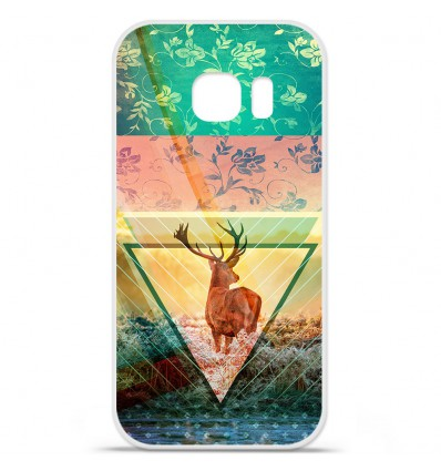 Coque en silicone Huawei Y5 II - Cerf Hipster Nature