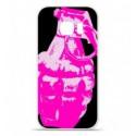Coque en silicone Huawei Y5 II - Grenade rose
