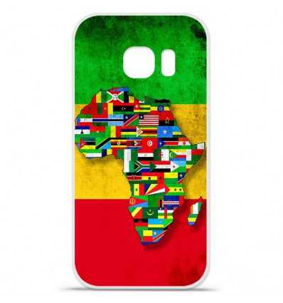 Coque en silicone Huawei Y5 II - Drapeau Africa Unite