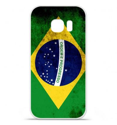 Coque en silicone Huawei Y5 II - Drapeau Brésil