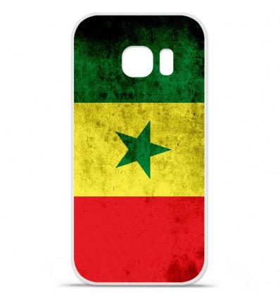 Coque en silicone Huawei Y5 II - Drapeau Sénégal