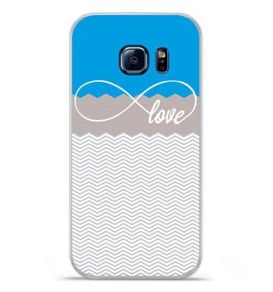 Coque en silicone Huawei Y5 II - Love Bleu