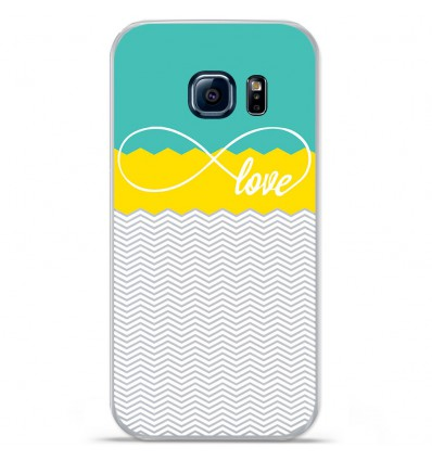 Coque en silicone Huawei Y5 II - Love Turquoise