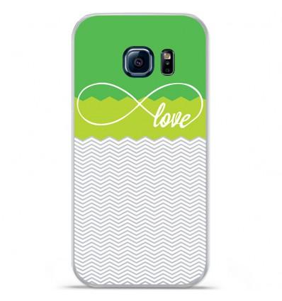 Coque en silicone Huawei Y5 II - Love Vert