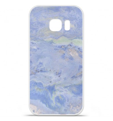 Coque en silicone Huawei Y5 II - Marbre bleu