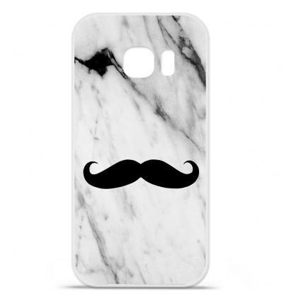 Coque en silicone Huawei Y5 II - Marbre Moustache