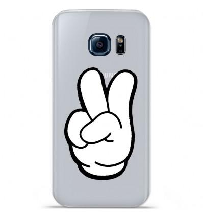 Coque en silicone Huawei Y5 II - Swag Hand Blanc