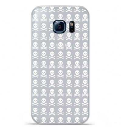Coque en silicone Huawei Y5 II - Skull blanc