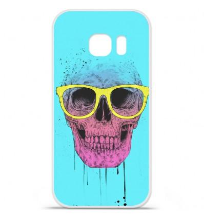 Coque en silicone Huawei Y5 II - BS Skull glasses