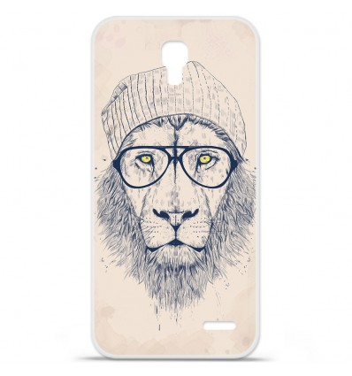 Coque en silicone Orange Roya - BS Cool Lion
