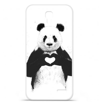 Coque en silicone Orange Roya - BS Love Panda