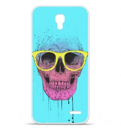 Coque en silicone Orange Roya - BS Skull glasses
