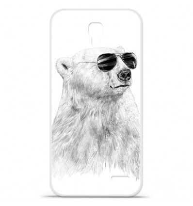 Coque en silicone Orange Roya - BS Sunny bear