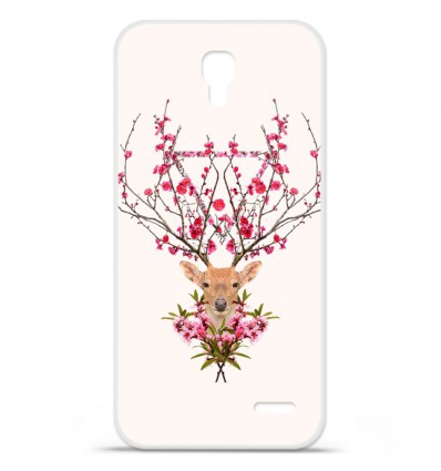 Coque en silicone Orange Roya - RF Spring deer