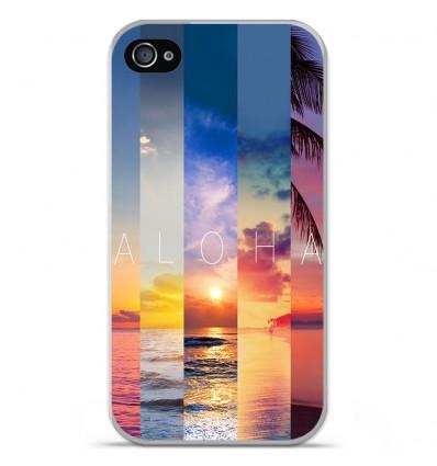 Coque en silicone Apple iPhone 4 / 4S - Aloha