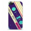 Coque en silicone Apple iPhone 4 / 4S - Cassette Vintage