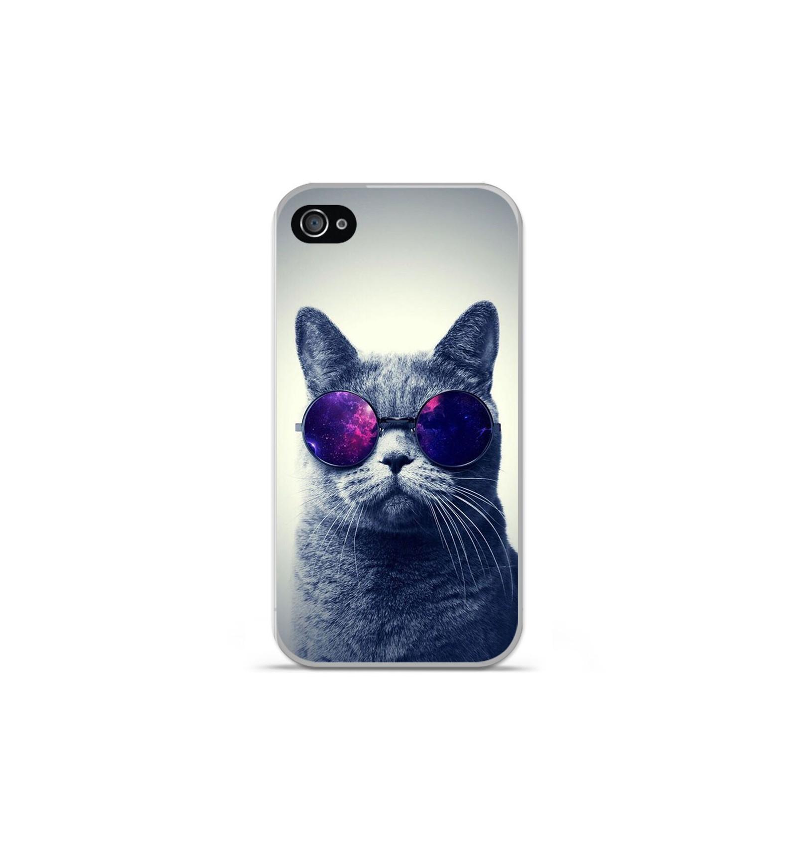 coque iphone 4 en silicone animaux