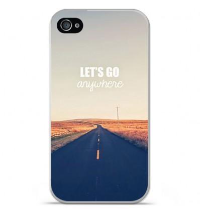 Coque en silicone Apple iPhone 4 / 4s - Citation 03