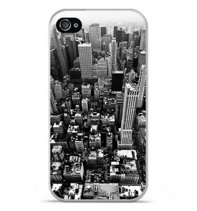 Coque en silicone Apple iPhone 4 / 4S - City